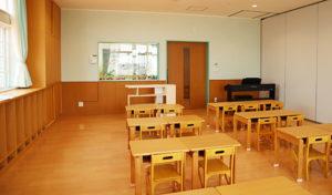 伊勢崎あすか幼稚舎の教室